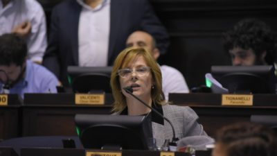 """Florencia Saintout aseguró tener propuestas """"para frenar este infernal y obsceno tarifazo"""""""