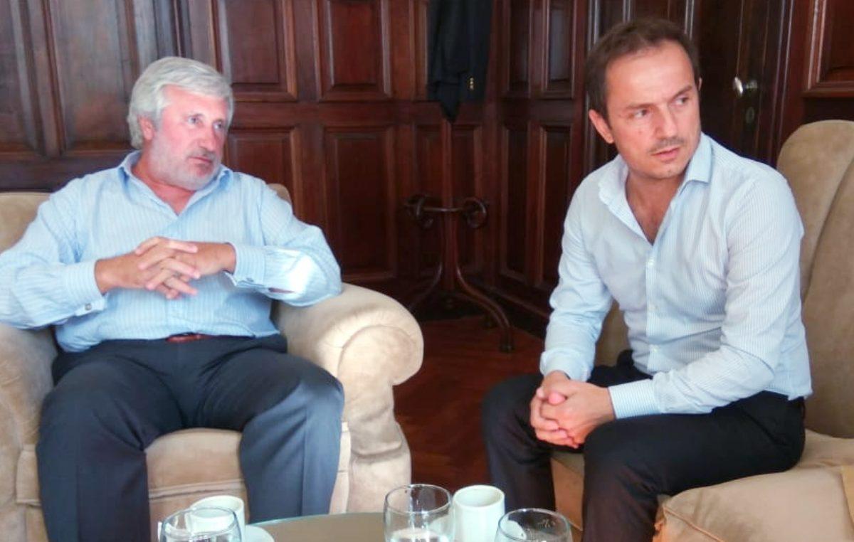 Campana / Abella se reunió con el procurador de la provincia Conte Grand y solicitó cubrir los cargos fiscales vacantes para mejorar la justicia