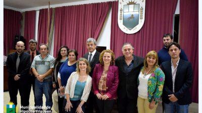 H. Yrigoyen / Con eje en salud y obra pública abrió las sesiones ordinarias el jefe comunal, Jorge Cortes