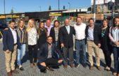 Senadores Cambiemos recorrieron el Metrobus Ruta 8 y el centro de Tres de Febrero