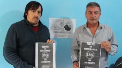 Municipales de La Plata en Estado de Alerta y Movilización contra el 15% de aumento