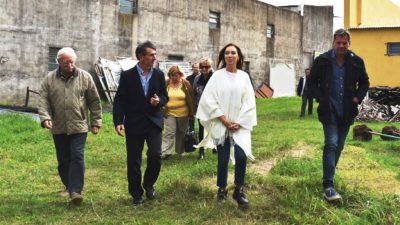 """Vidal estuvo en Lezama y se llenó de elogios: """"Es una alegría ver que la Provincia avanza y crece"""""""