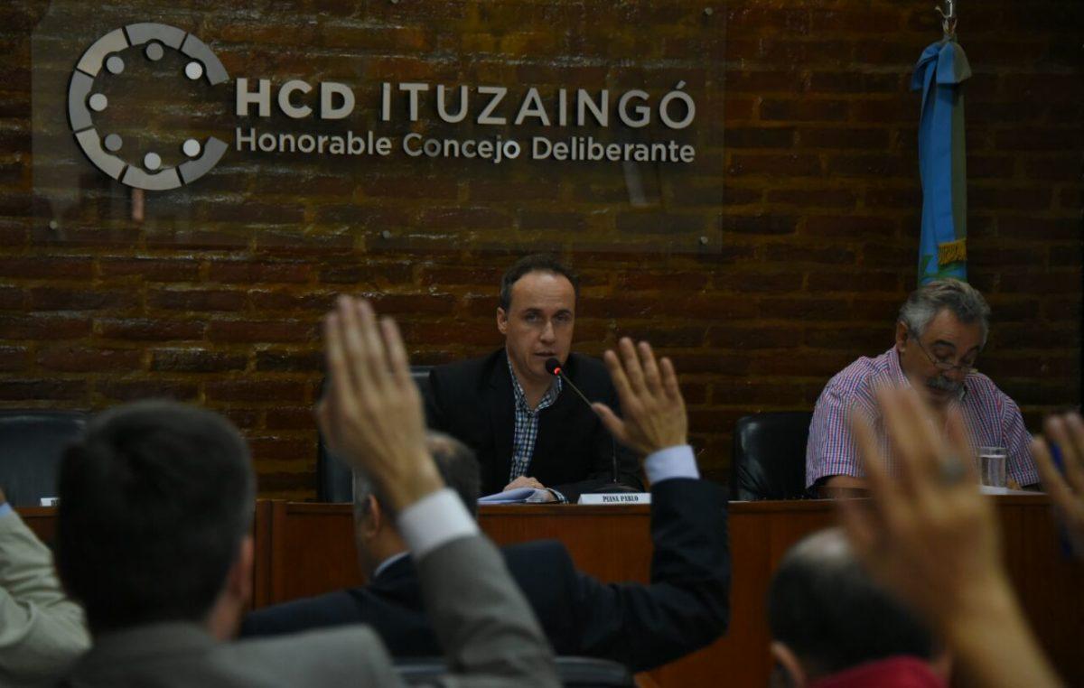 En Ituzaingó el concejo deliberante aprobó las cuentas del municipio