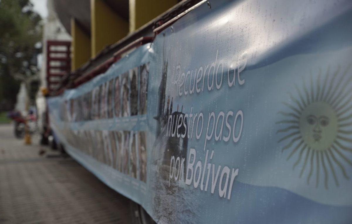 Bolívar homenajeó a los tripulantes del ARA San Juan