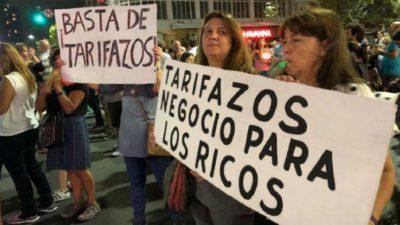 Ruidazo Nacional contra el tarifazo en diferentes puntos del país