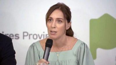 Vidal fue la primera en obedecer a Macri y redujo los impuestos provinciales que se pagan con la luz, gas y agua