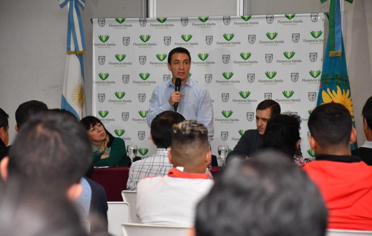 """El intendente de Florencio Varela ponderó al deporte como política de Estado: """"Es una herramienta de inclusión"""""""