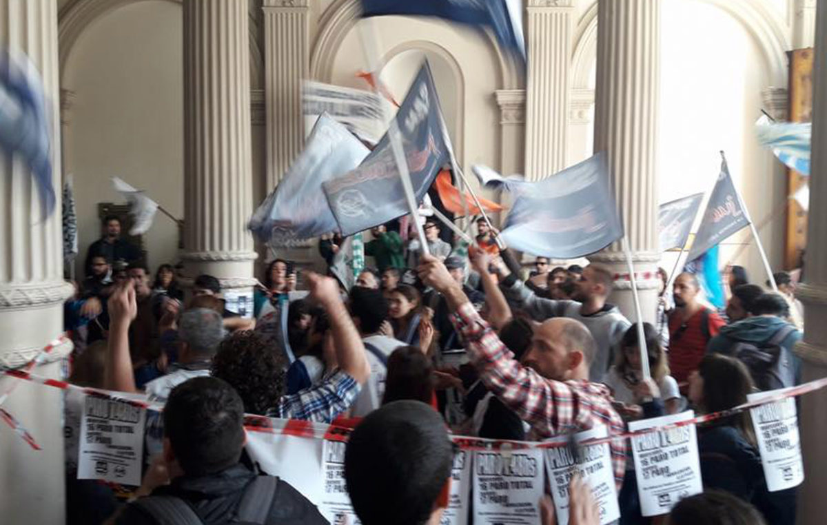 Judiciales: Jornada de protesta contra el 15% sin cláusula gatillo