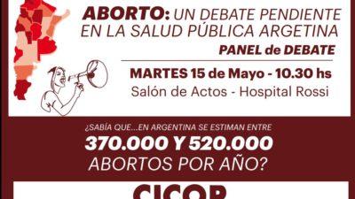 La Plata / Se llevará a cabo una charla sobre el aborto en el Hospital Rossi