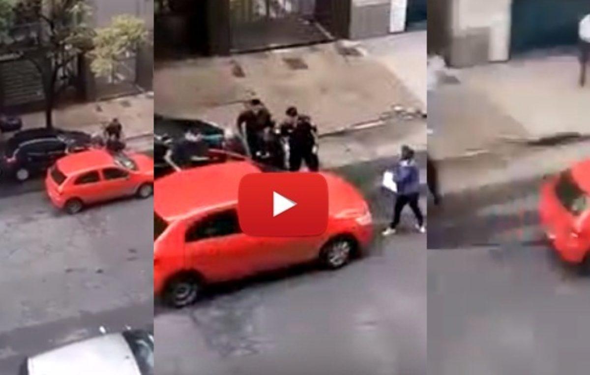 Locademia de policía: un ladrón rodeado aprovechó una distracción y se fugó / Mirá el VIDEO