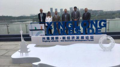 La Plata se mostró en China para atraer inversiones