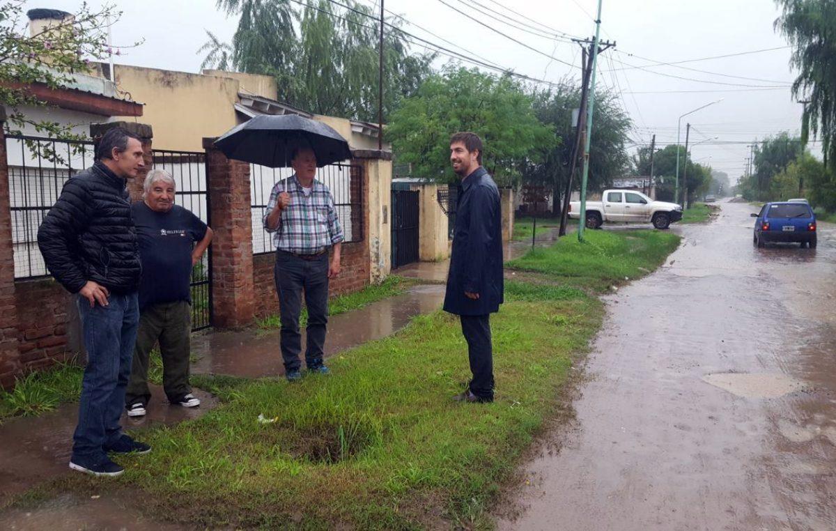 En Mercedes destacan los trabajos realizados en los barrios ante los recientes temporales