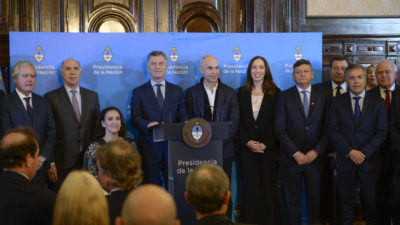 La provincia compró 82 mil millones de pesos en Lebacs y desde el FR salieron a matar a Vidal por intentar salvar a Macri