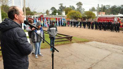 """Día del Bombero Voluntario: """"Ustedes son nuestro orgullo"""", remarcó el Intendente de Monte Hermoso"""
